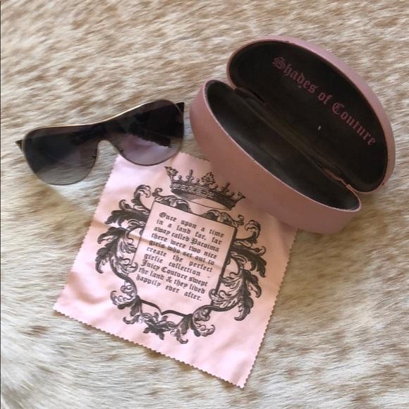 Authentic Juicy Couture Glitter Punk Sunglasses
